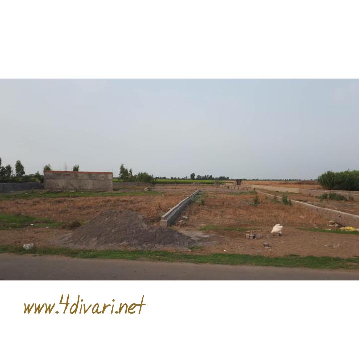 فروش زمین در روستای ساحلی و سرسبز کرفون