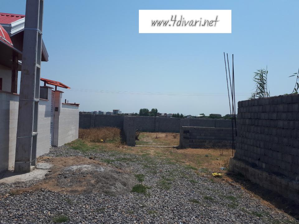 فروش دو پلاک زمین در روستای ساحلی و توریستس کرفون بهنمیر