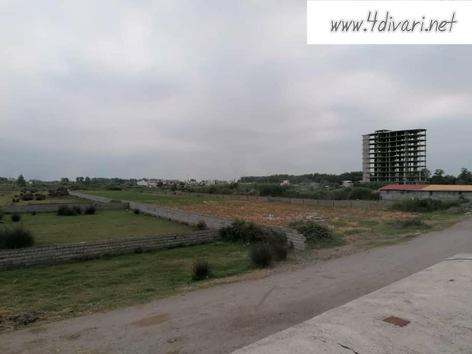 فروش زمین در ساحل سرخرود